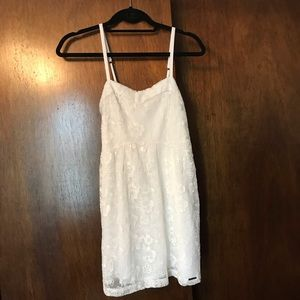 Abercrombie & Fitch White Lace Dress❄️💛